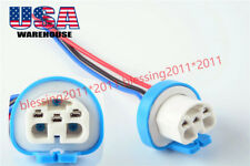 9004 HB1 9007 HB5 3 Wire Harness Pigtail Halogen Male Female Light Bulb Socket