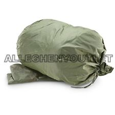 Nos Us Army Wet Weather Clothing Bag Military Green Waterproof Laundry Gear Bag