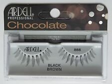 (LOT OF 72) ARDELL Professional Lashes Chocolate Black Brown #888