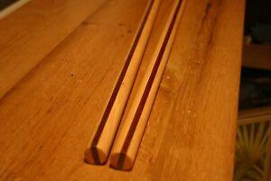 "Deluxe Hickory/Ipe Tanbo Staff pair. 1""  24"" Laminated Escrima Kali sticks"