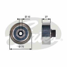 PEUGEOT 207 1.6D Aux Belt Idler Pulley 06 to 07 Guide Deflection Gates Quality
