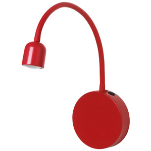 IKEA BLAVIK LED Wall Lamp Battery Operated Red 40 lm