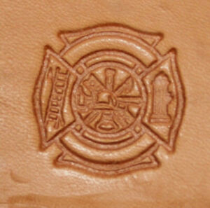 CRAFTOOL - TANDY LEATHER 3D STAMP - 8596-00  FIRE  - NEW