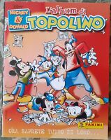 ALBUM FIGURINE STICKERS WALT DISNEY-TOPOLINO MICKEY MOUSE e PAPERINO DONALD DUCK