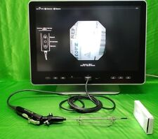 Gyrus Acmi IDH-4 Invisio Hysteroscope with IDS 1800 Digital Controller Monitor