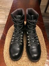 Men's Sendra Alpine Round Toe Boots In Black Size 11 $340 *Worn Once*