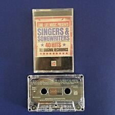 ROCK CASSETTE-Time-Life Music Singers & Songwriters 40 Hits-Part 1-1990 Original