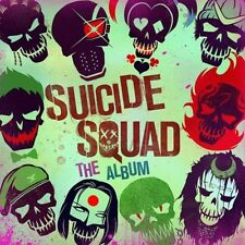 SUICIDE SQUAD The Album CD NEW Wiz Khalifa Skrillex Mark Ronson Imagine Dragons