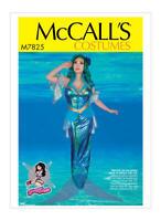McCalls Sewing Pattern  M7825 Ladies Mermaid Costume Yaya Han Size E5 14-22
