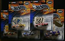 5 NEW NASCAR HOT WHEELS RACING 2002 STICKER 43 21 25 43 6 SEE PHOTOS