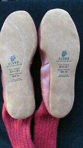 WINTER - ACORN Very Warm Slipper Socks - Plow and Hearth (M 7.5/8.5 or W 9/10)