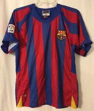 FC Barcelona FCB Barça 2004 2005 BLANK Soccer Jersey Medium LFP la Liga
