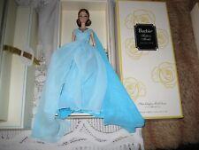 "Barbie Silkstone "" Blue Chiffon Ball Gown "" Gold Label - NRFB -"