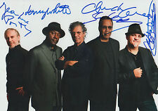 Return to Forever Band full signed 8x12 inch photo autographs