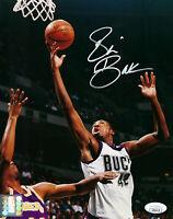 BUCKS Vin Baker signed 8x10 photo JSA COA AUTO Autographed Milwaukee 1st Rd Pick