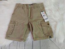 Quiksilver Toddler Boys Tan Cargo Shorts Size 4T NEW