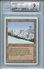 MTG Revised Taiga Dual Land BGS 9.0 Mint Magic Card 1278