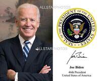 President Joe Biden Portrait 8 x 10 11 x 14 Photo Picture Photograph