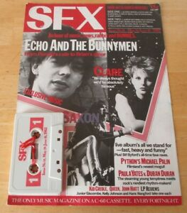 SFX cassette /mag no 14 may 29-june  10 1982, echo & the bunnymen, altered image