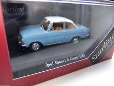 OPEL KADETT A COUPE DE 1963 BICOLORE BLEU ET BLANC : STARLINE ~  NEUF