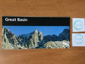 Great Basin National Park Unigrid Brochure Map and Passport stamps