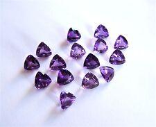1  Amethyst  Trilliant  Triangel  Dreieck  8 x 8 mm  ca 1,50 Carat  lila violett