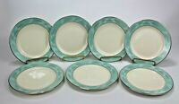 "Set of 6 +1 Homer Laughlin Eggshell Romance Pattern 1969 Bread Plates 7"""