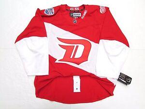 DETROIT RED WINGS AUTHENTIC 2016 NHL STADIUM SERIES REEBOK EDGE 2.0 7287 JERSEY