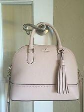 Kate Spade McCall Street Leather Carli Satchel Light Pink WKRU4438