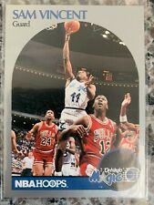 1990-91 Hoops #223 Sam Vincent - Michael Jordan wrong jersey #12!!