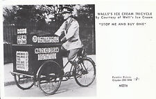 """Bicycle Postcard - Walls's Ice Cream Tricycle  """"Stop Me And Buy One"""" U108"""