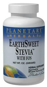 Stevia with FOS, 4 oz, Planetary Herbals