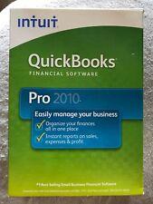 intuit Quickbooks Pro 2010 Software