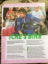 R1 Ephemera 1984 2 Pages David Icke Celebrity Bike Ride