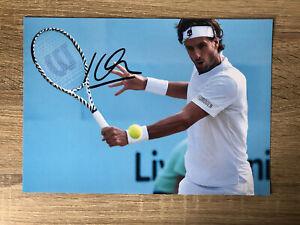 Feliciano Lopez Tennis Signed Photo