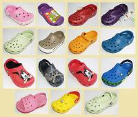 Crocs Ben 10 Dora Spongebob Mini Mickey Mouse UK Size 1 2 3 4 12-13 11 9-10 7-8