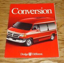 Original 2000 Dodge Ram Conversion Van Sales Brochure 00