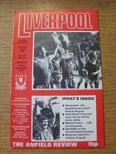 22/04/1978 Liverpool v Norwich City  (Score Noted)