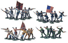 BRITAINS SUPER DEETAIL Civil War Toy Soldiers 24 NEW STORE STOCK MINT FREE SHIP