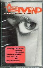 EYES DON'T LIE - DONNY OSMOND (CASSETTE) BRAND NEW FACTORY  SEALED