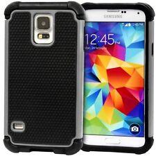 Housses et coques anti-chocs gris Samsung pour téléphone mobile et assistant personnel (PDA)