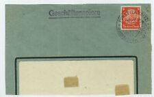 70430 - Sonderstempel Forst (Lausitz) Besucht die Deutsche Rosenschau, 19.4.1938