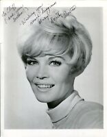 Dorothy Provine That Darn Cat! The Great Race Signed Autograph Photo