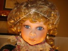 "Treasured Heirloom Collection ""Pamela"" Janis Berard 24"" Porcelain Doll (#Cv89)"