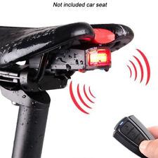 4 In 1 Bike Bicycle Alarm Anti-theft Rear Wireless Lock Remote Control Security
