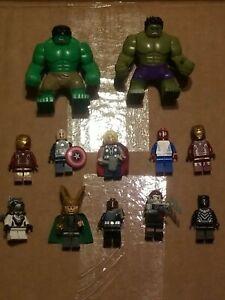 US SELLER - FITS LEGO Tony Stark In Business Suit Custom Figure #484