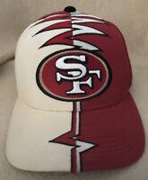 Vintage 1990's SAN FRANCISCO 49ERS Hat Shockwave Starter Adjustable NFL Pro Line