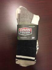 J. Crew x Darn Tough Vermont Men's Chalk Stripe Socks USA Made One Size NWT