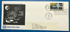 Rare Vintage Apollo 11 First Man on the Moon U. S. Steel FDC C76 First Cachet?