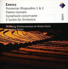 Lawrence Foster, G E - Enescu: Romanian Rhapsodies Nos 1 & 2 / 3 Suites [New CD]